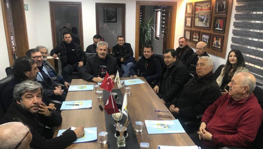 Genişletilmiş Yönetim Kurulu Toplantısı Yapıldı